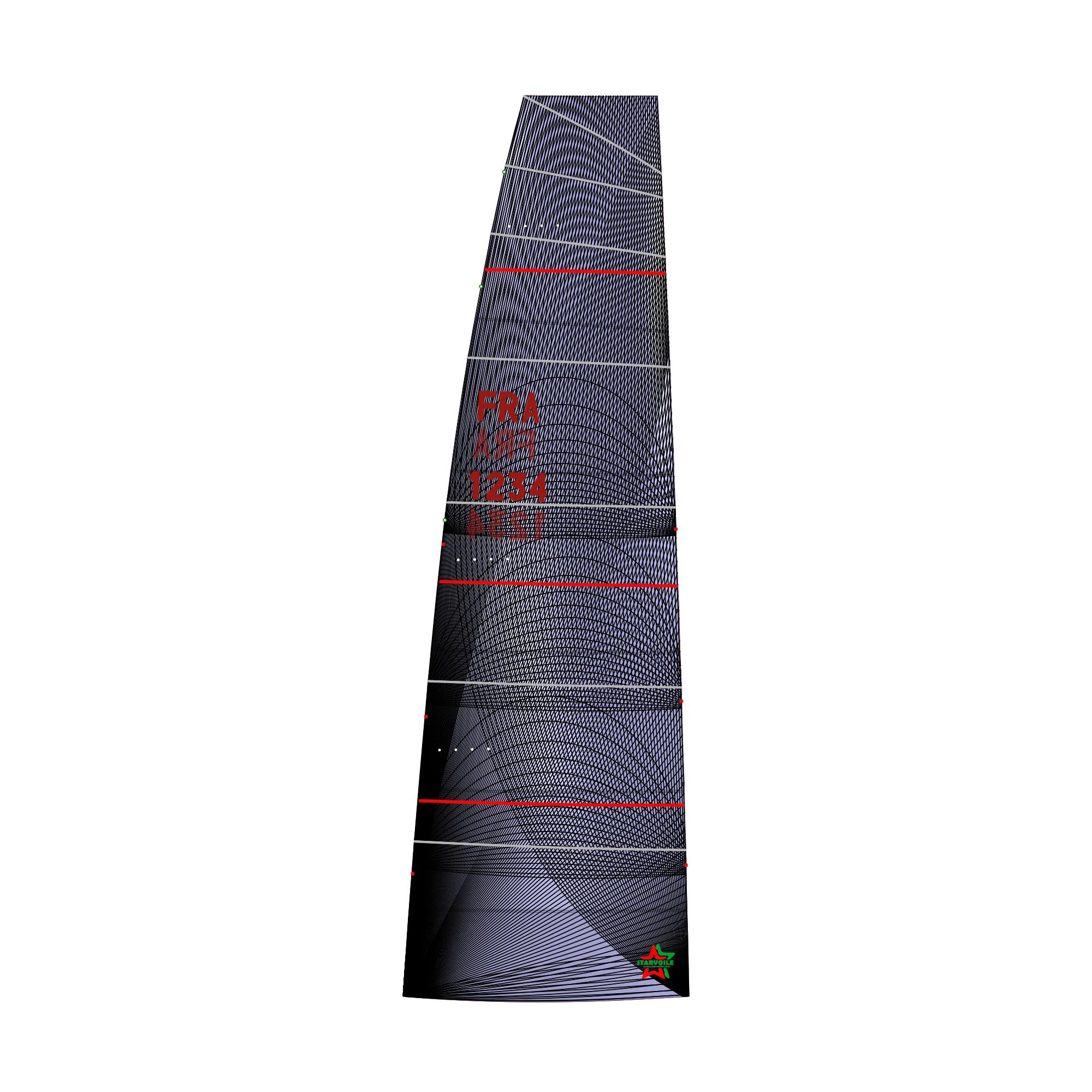 GRAND VOILE Membrane à Corne - Starlight